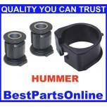Steering Rack & Pinion Bushing Kit for Chevrolet Colorado 2006-2012 GMC Canyon 2004-2006  Hummer H3 2006-2008