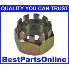 CV Axle Nut M20x1.0 Castle NUT-13 for SATURN L-Series 00-04 (2-pack)