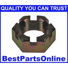 CV Axle Nut M20x1.5 Castle NUT-19 for SUBARU Justy 89-94 (2-pack)