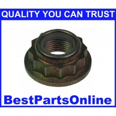 CV Axle Nut M20x1.5 Nylon Lock & Stake NUT-50 for AUDI FORD VOLKSWAGEN (2-pack)