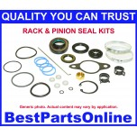 Power Steering Rack and Pinion Seal Kit for 2011-2014 FORD F-150 2011-2014 FORD Expedition 2011-2012 LINCOLN Mark LT 6.2L 2011-2014 LINCOLN Navigator